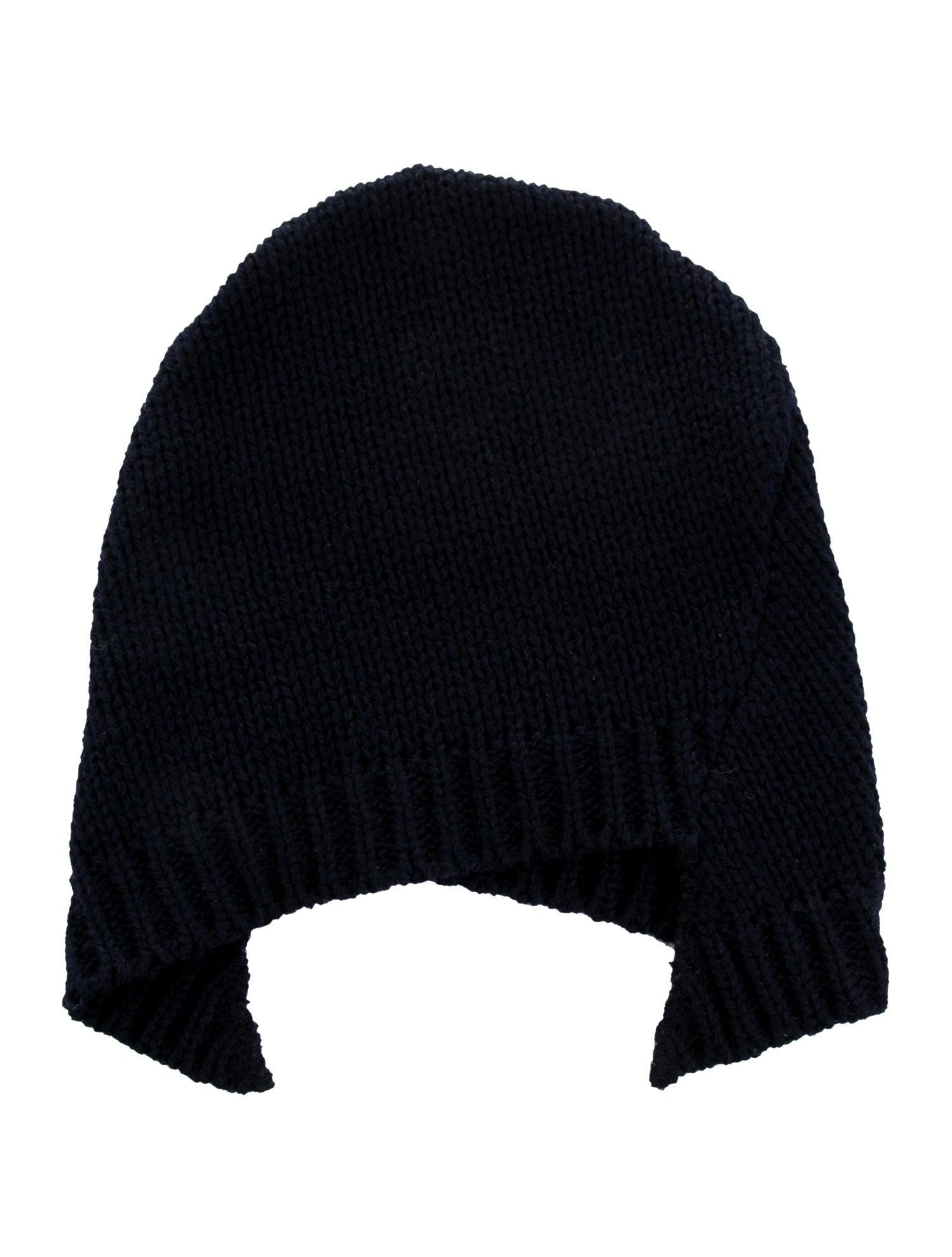 Comme des Garçons Wool Asymmetrical Beanie - Accessories - COM24667 ... 7e6db9f1d1e