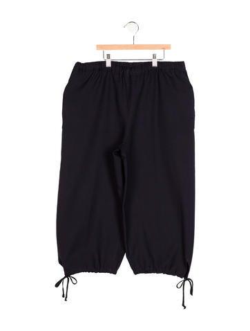 Comme des Garçons Girls' High-Rise Wide-Leg Pants None