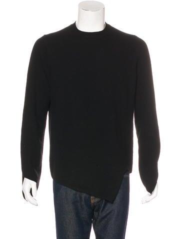 Comme des Garçons Homme Plus Wool Crewneck Sweater None