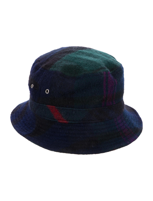 Comme des Garçons Plaid Bucket Hat - Accessories - COM27096  734f30d74f5