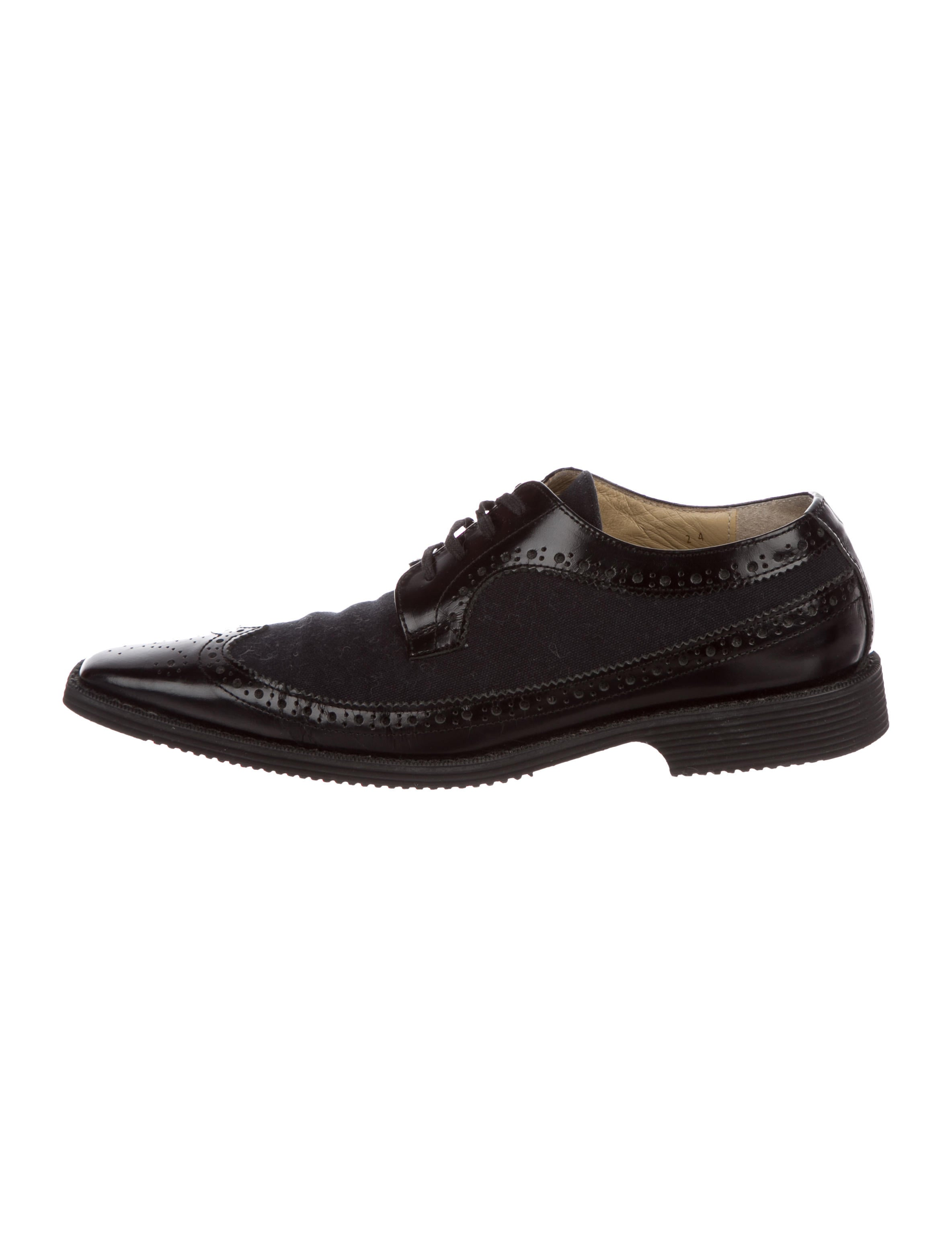 classic cheap price Comme des Garçons Brogue Wingtip Oxfords manchester great sale free shipping order release dates cheap online outlet deals lKqAg9sY