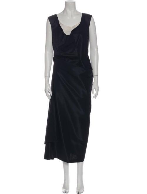 Comme des Garçons Vintage Mini Dress Blue