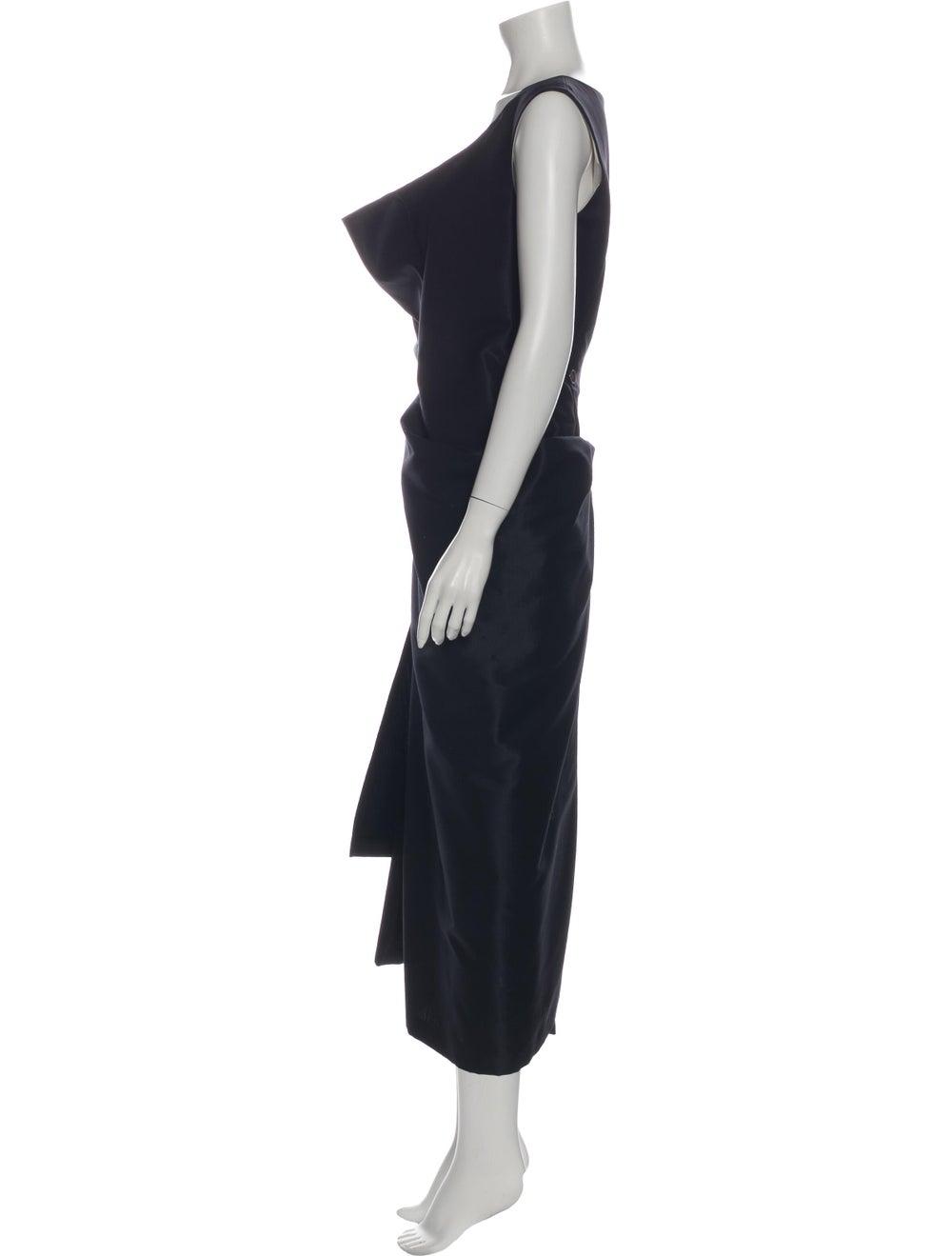 Comme des Garçons Vintage Mini Dress Blue - image 2