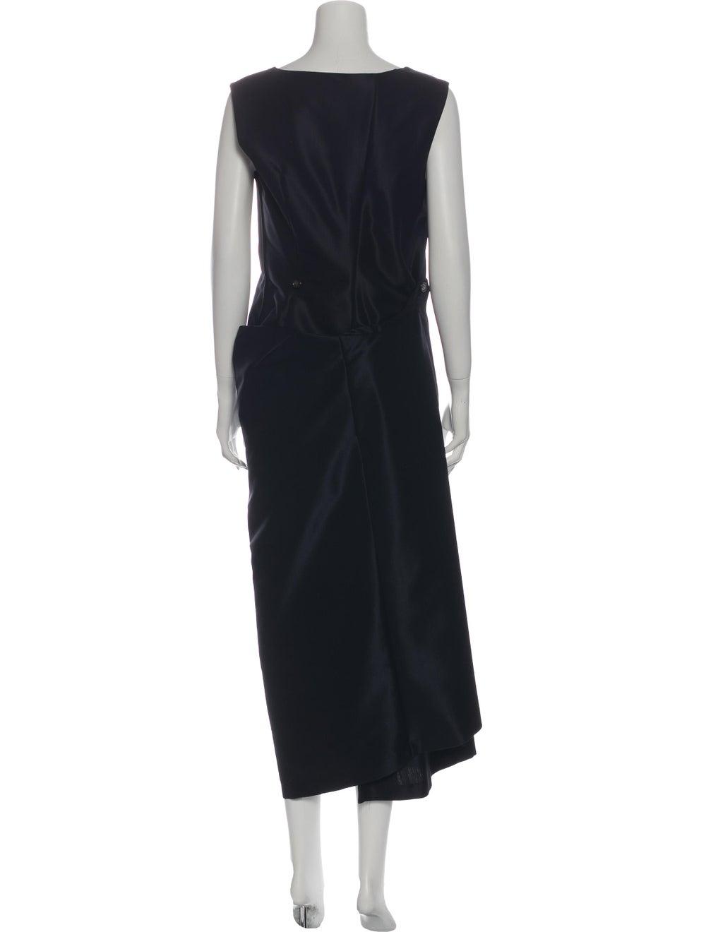 Comme des Garçons Vintage Mini Dress Blue - image 3