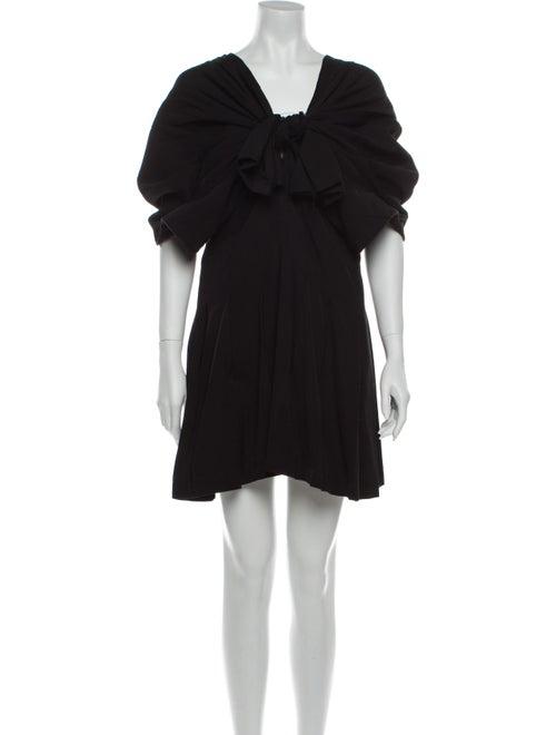Comme des Garçons Wool Mini Dress Wool
