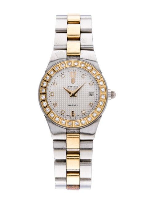Concord Mariner Watch yellow
