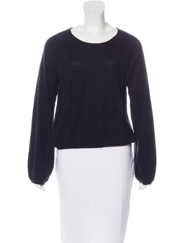 Co. Scoop Neck Rib Knit Sweater None