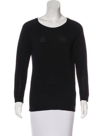 Co. Long Sleeve Rib Knit Top None
