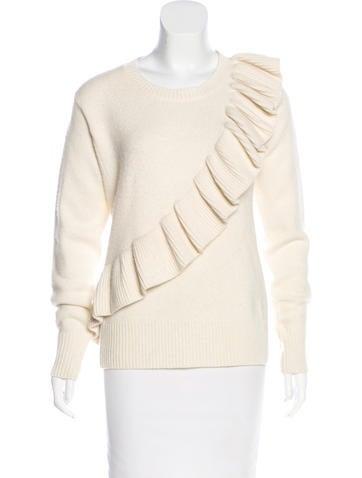 Co. Cashmere Knit Sweater None