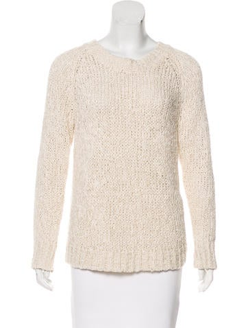 Co. Open Knit Sweater None