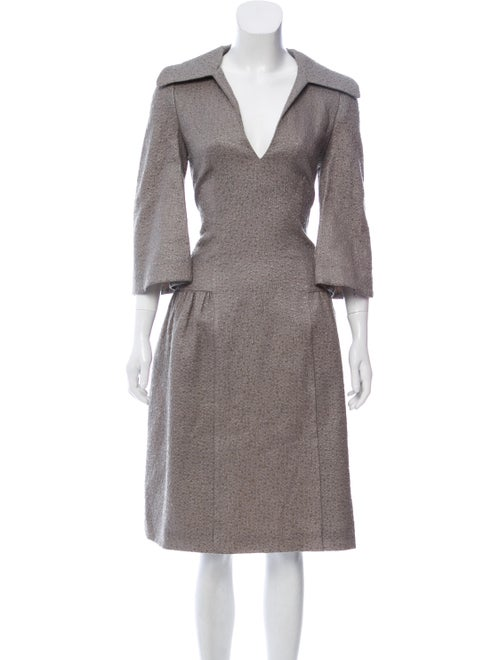 Co. Collared A-Line Dress