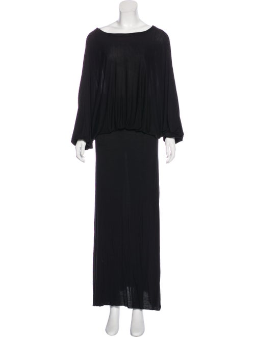 Co. Maxi Knit Dress Black