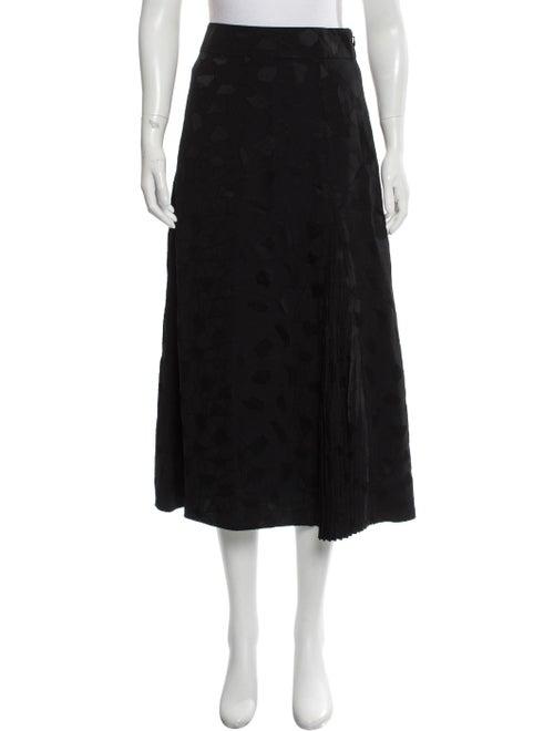 Co. A-line Midi Skirt Black