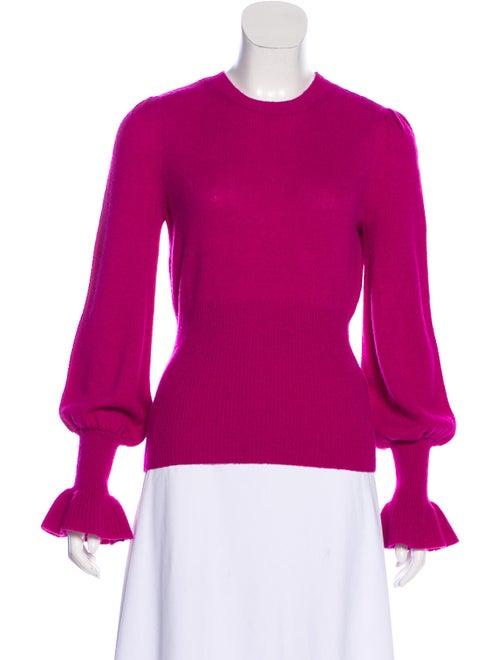 Co. Lightweight Alpaca Sweater Magenta
