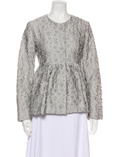 Co. Evening Jacket Silver
