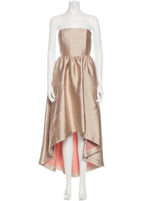 Co. Strapless Long Dress
