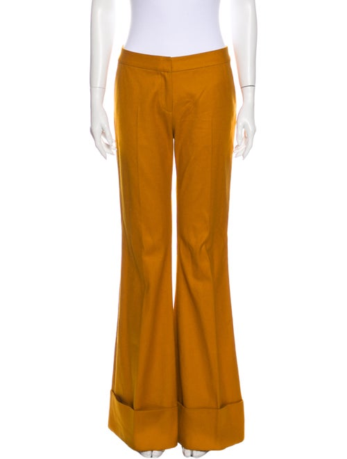 Co. Flared Pants Orange