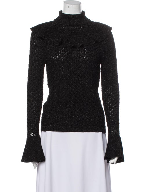 Co. Turtleneck Sweater Black - image 1