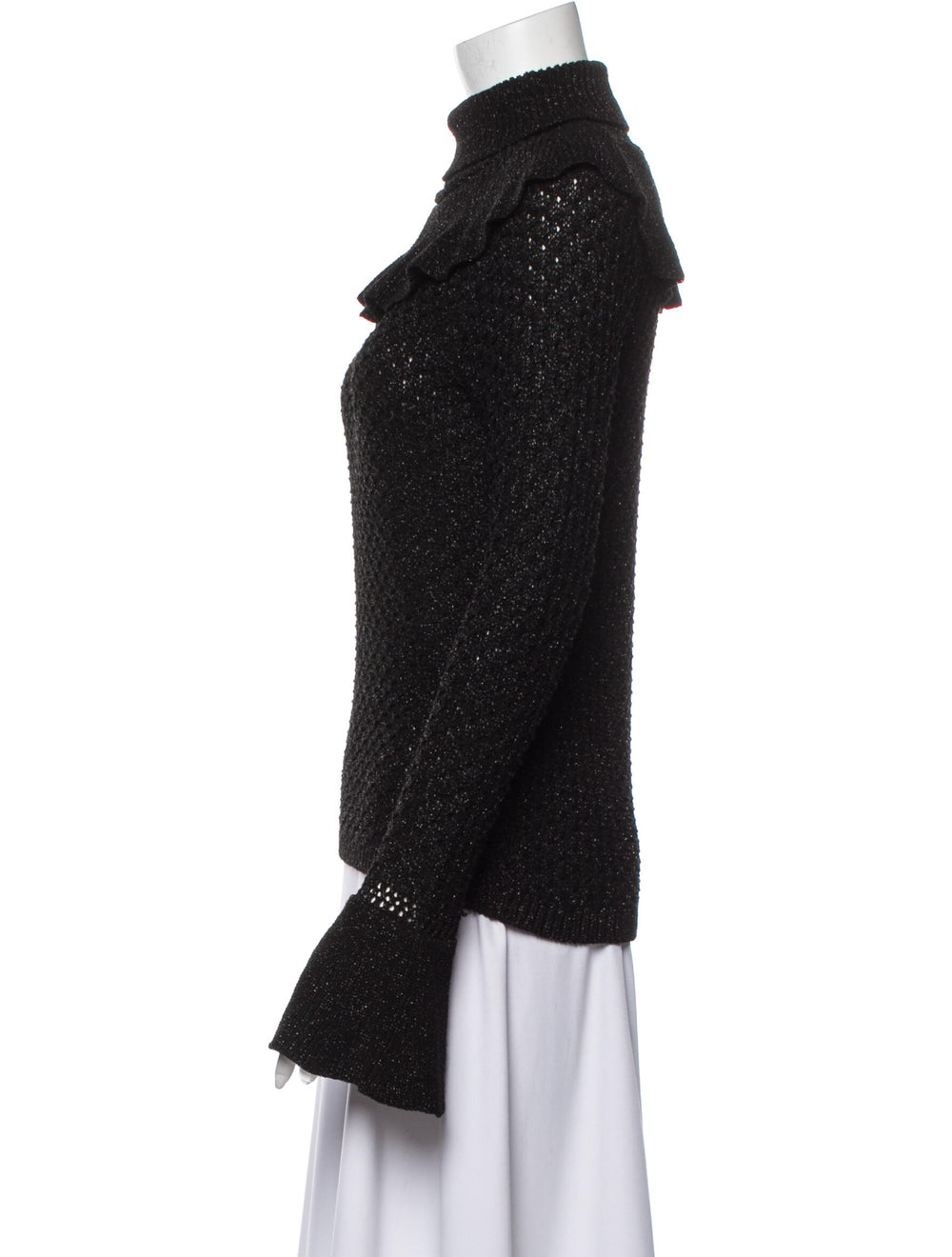 Co. Turtleneck Sweater Black - image 2