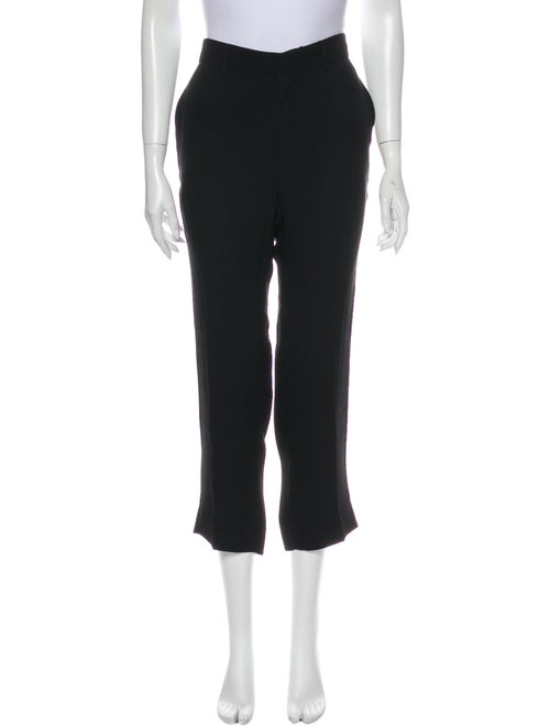 Co. Silk Flared Pants Black