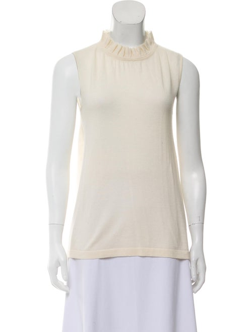 Co. Cashmere Sleeveless Top
