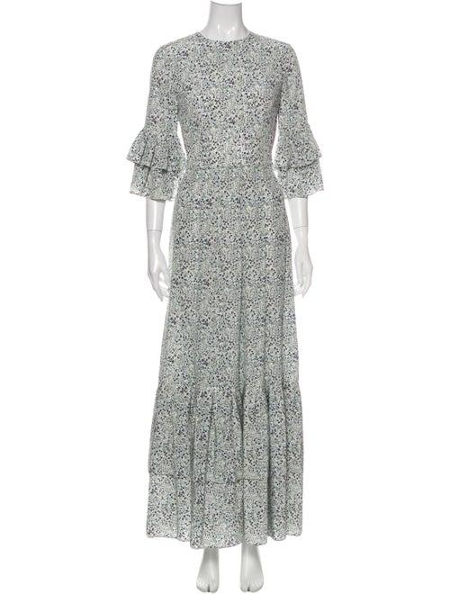 Co. Silk Long Dress White