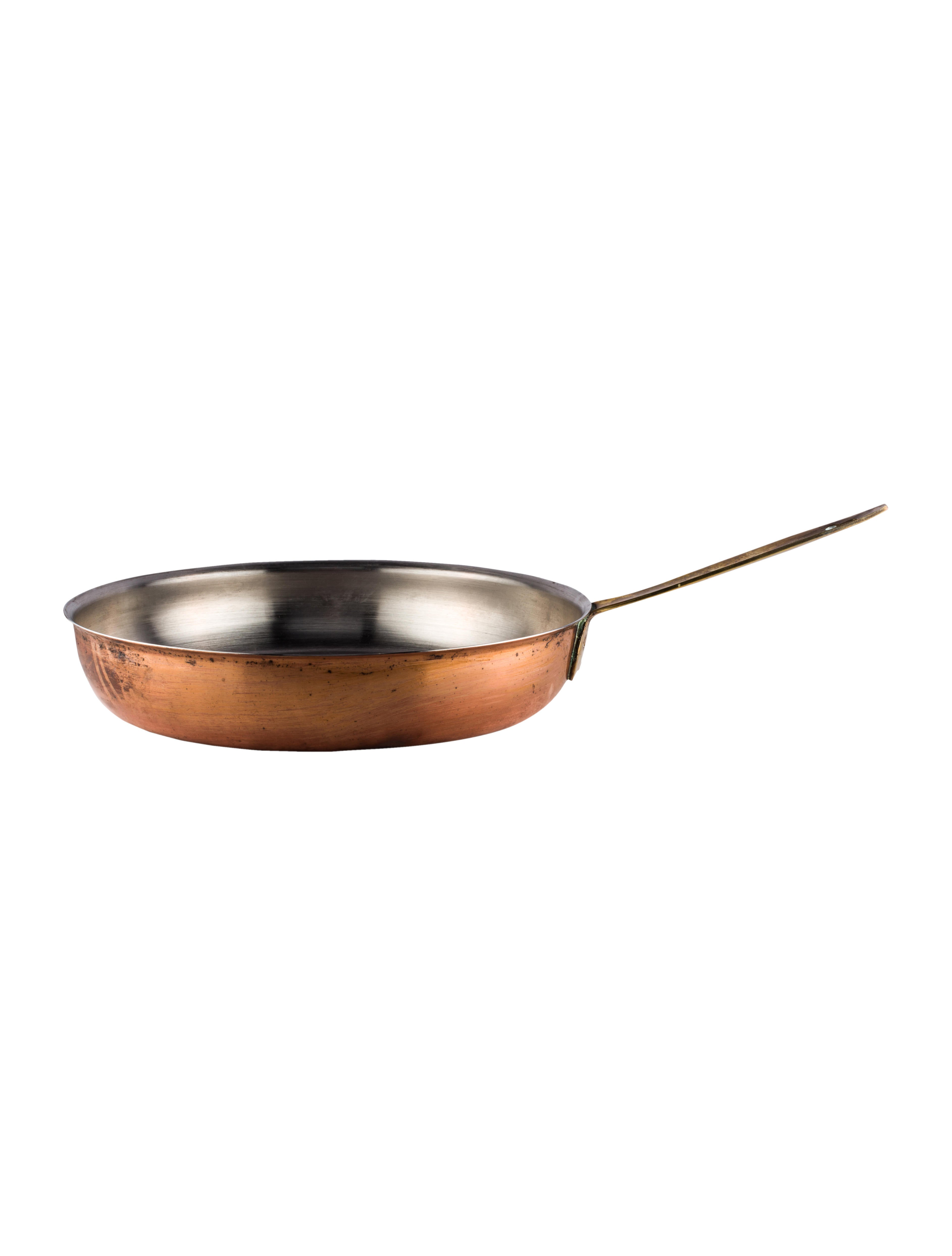 Cookware Spartan Copper-Plated Skillet - Tabletop And Kitchen ...