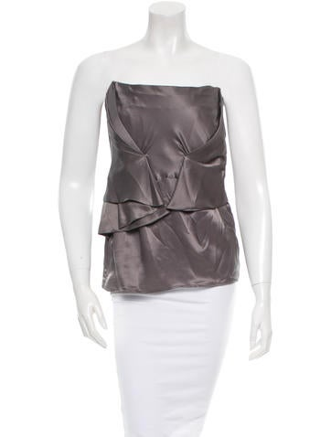 Costume National Silk Top None