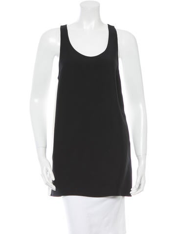 Costume National Two-Tone Tank Top None