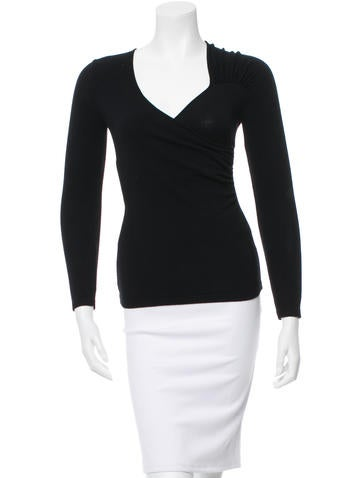 Costume National Long Sleeve Top None