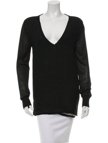 Costume National Layered Knit Top None