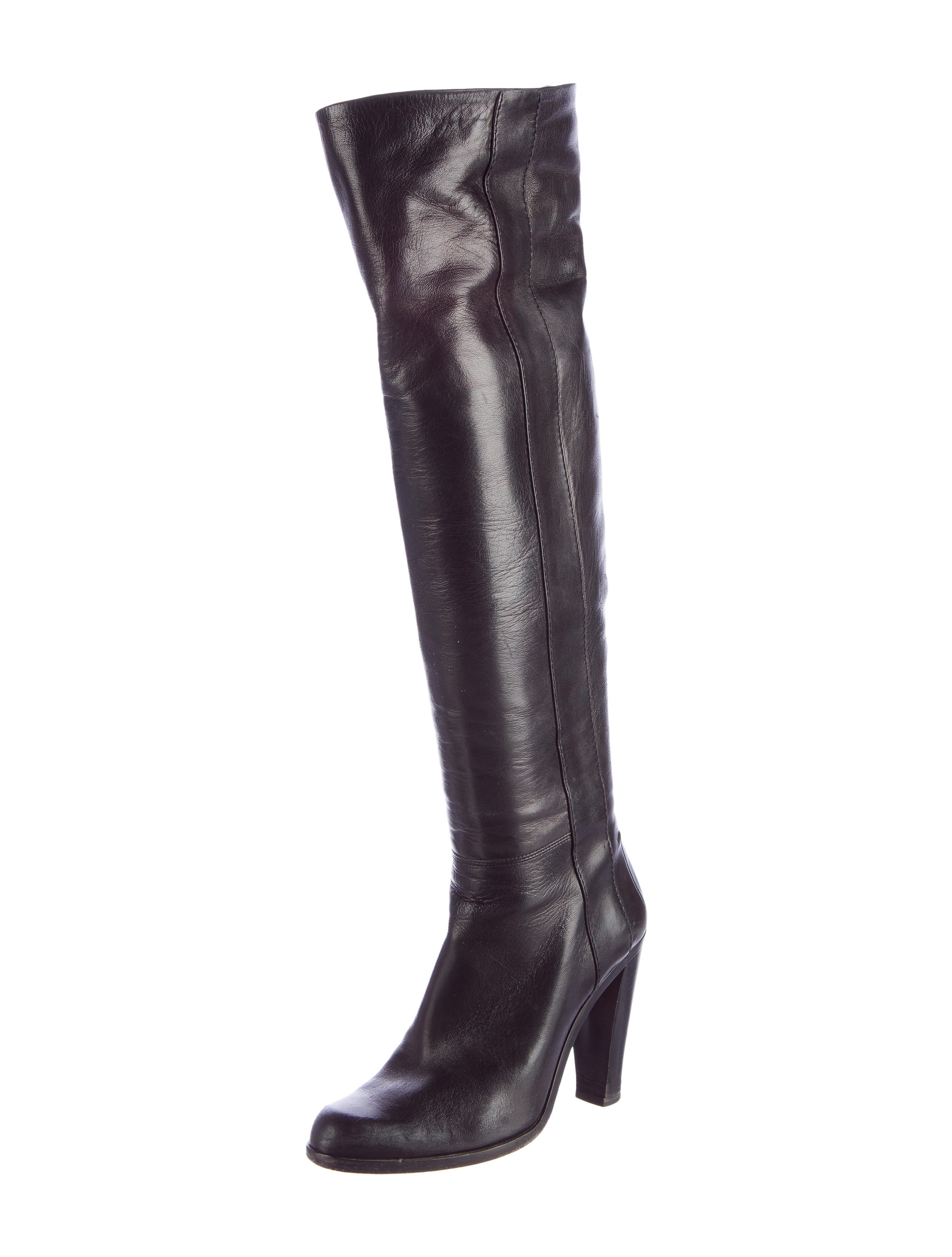 costume national toe knee high boots shoes