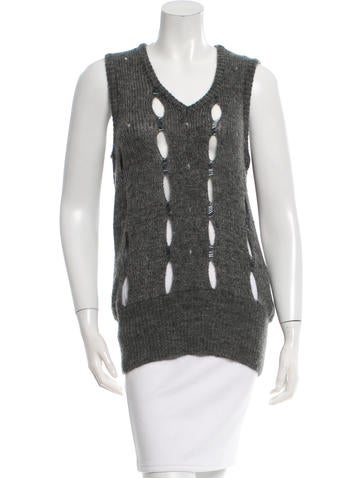 Costume National Cutout Knit Top None
