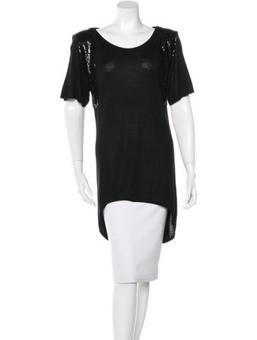Costume National Embellished Structured Top None