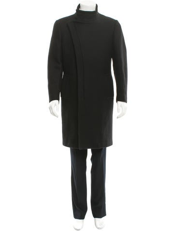 Costume National Belted Wool Coat None