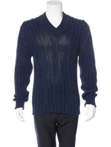 Costume National Cable Knit Sweater None