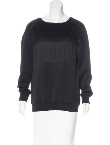 Costume National Paneled Knit Sweater None