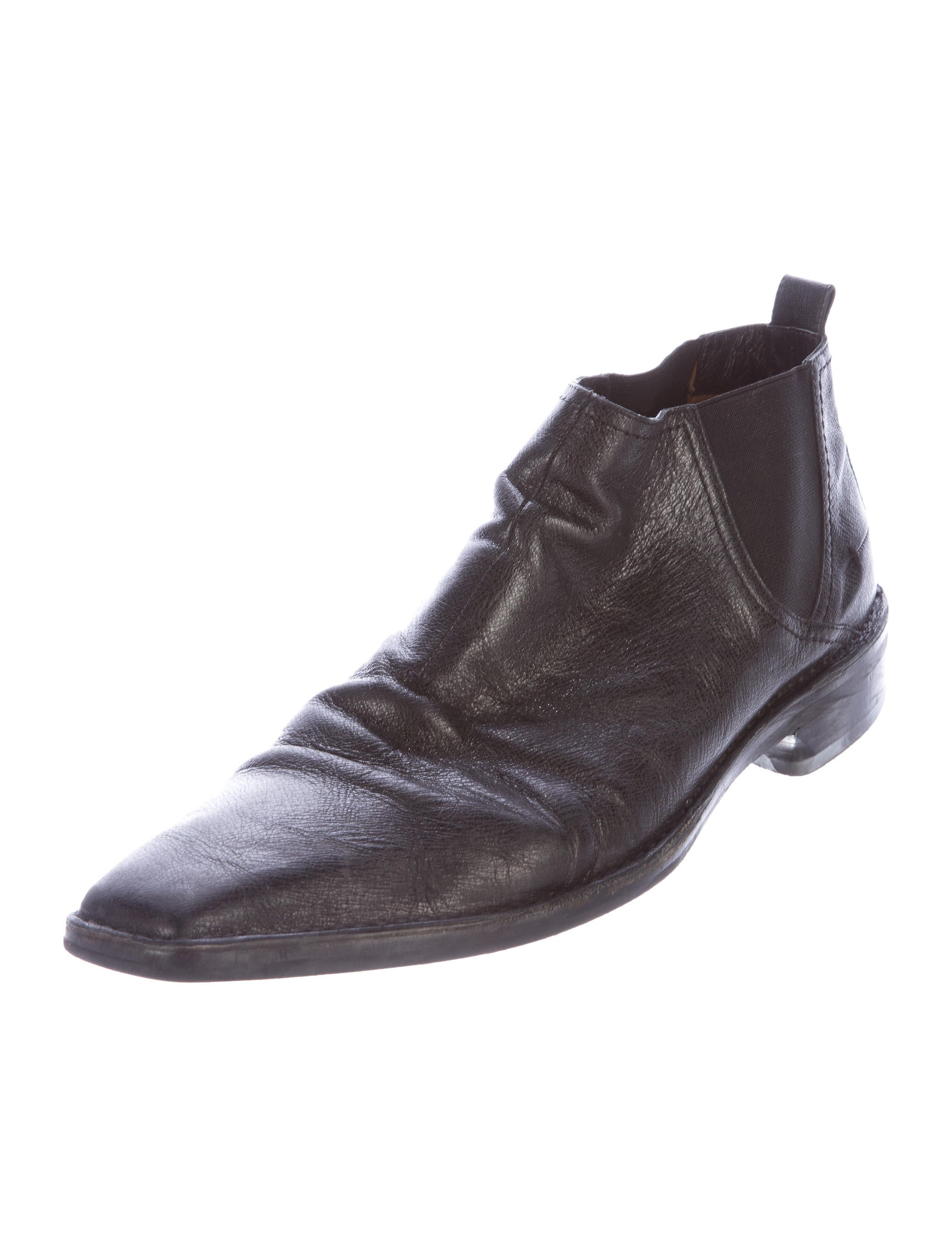 costume national leather ankle boots shoes cot23719