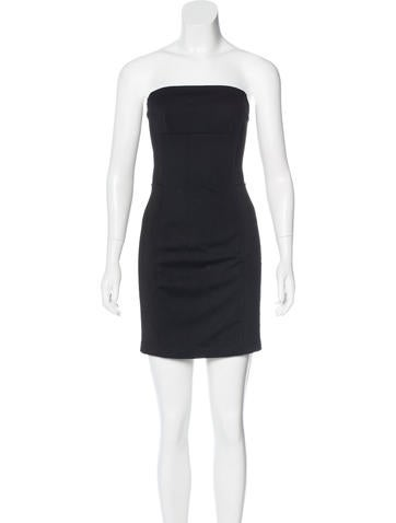 Costume National Strapless Bodycon Dress w/ Tags None