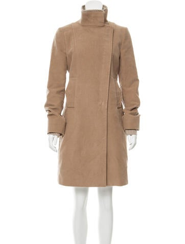 Costume National Textured Fitted Coat None