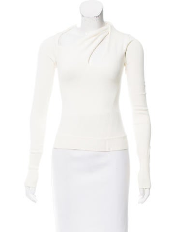 Costume National Knit Cutout Top None