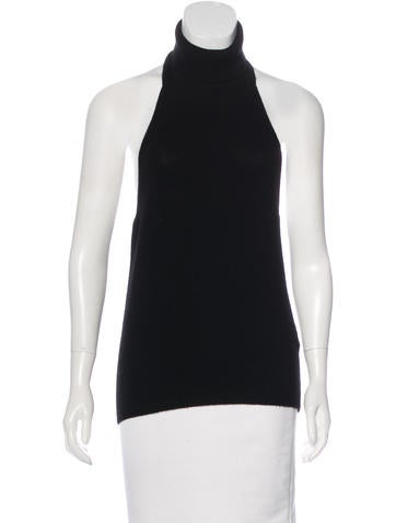 Costume National Wool & Cashmere-Blend Top None