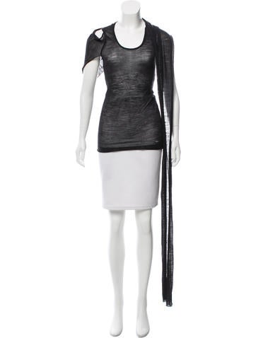 Costume National Sleeveless Knit Top None