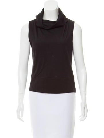 Costume National Sleeveless Wool Top None