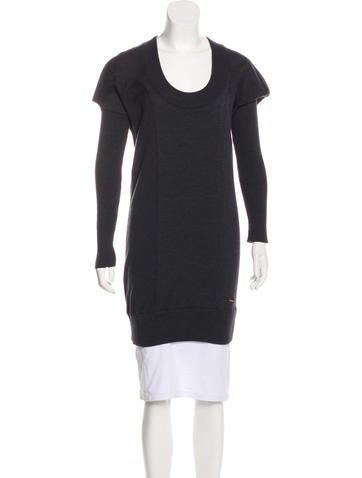 Costume National Scoop Neck Wool Sweater None