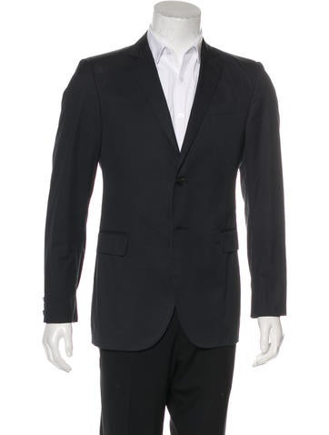 Costume National Notched Lapel Sport Coat None