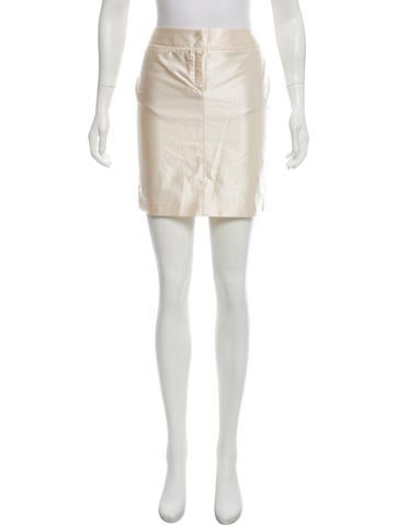 Costume National Satin Mini Skirt W/ Tags by Costume National