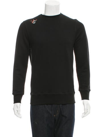 Tim Coppens Embroidered Crew Neck Sweatshirt w/ Tags None