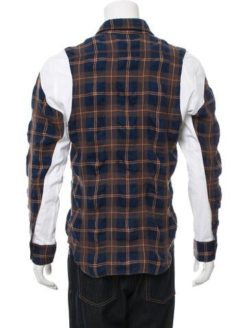 Tim coppens flannel button up shirt clothing cpp20151 for Button up flannel shirts
