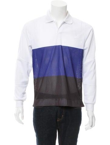 Tim Coppens Moto Polo Mesh Shirt w/ Tags None